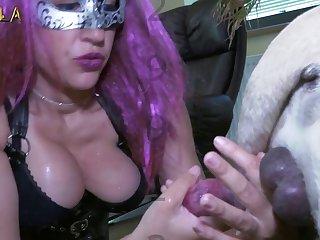 Petite Spanish  Amateur Dog porn Latina Teen Fuck