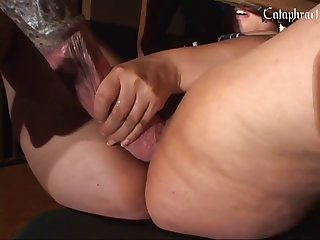 Petite Redhead Teen Thief Fucked by Dog of Mall Guard - Teen